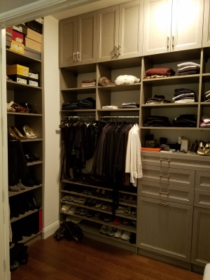 Closet Organization Tips - Easy as 1, 2, 3